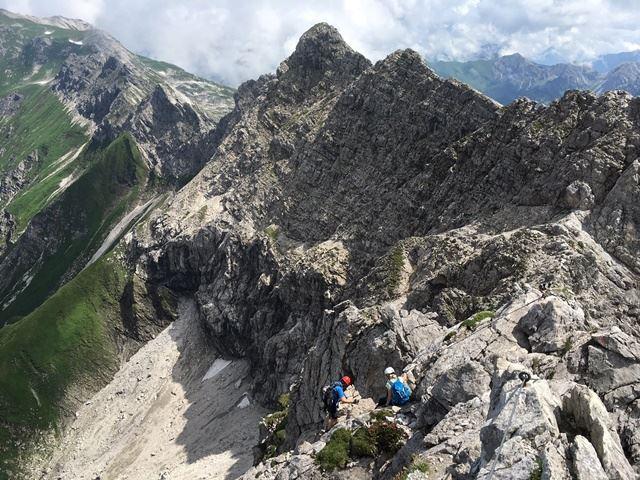 Klettersteig Hindelang : Tagestour hindelanger klettersteig