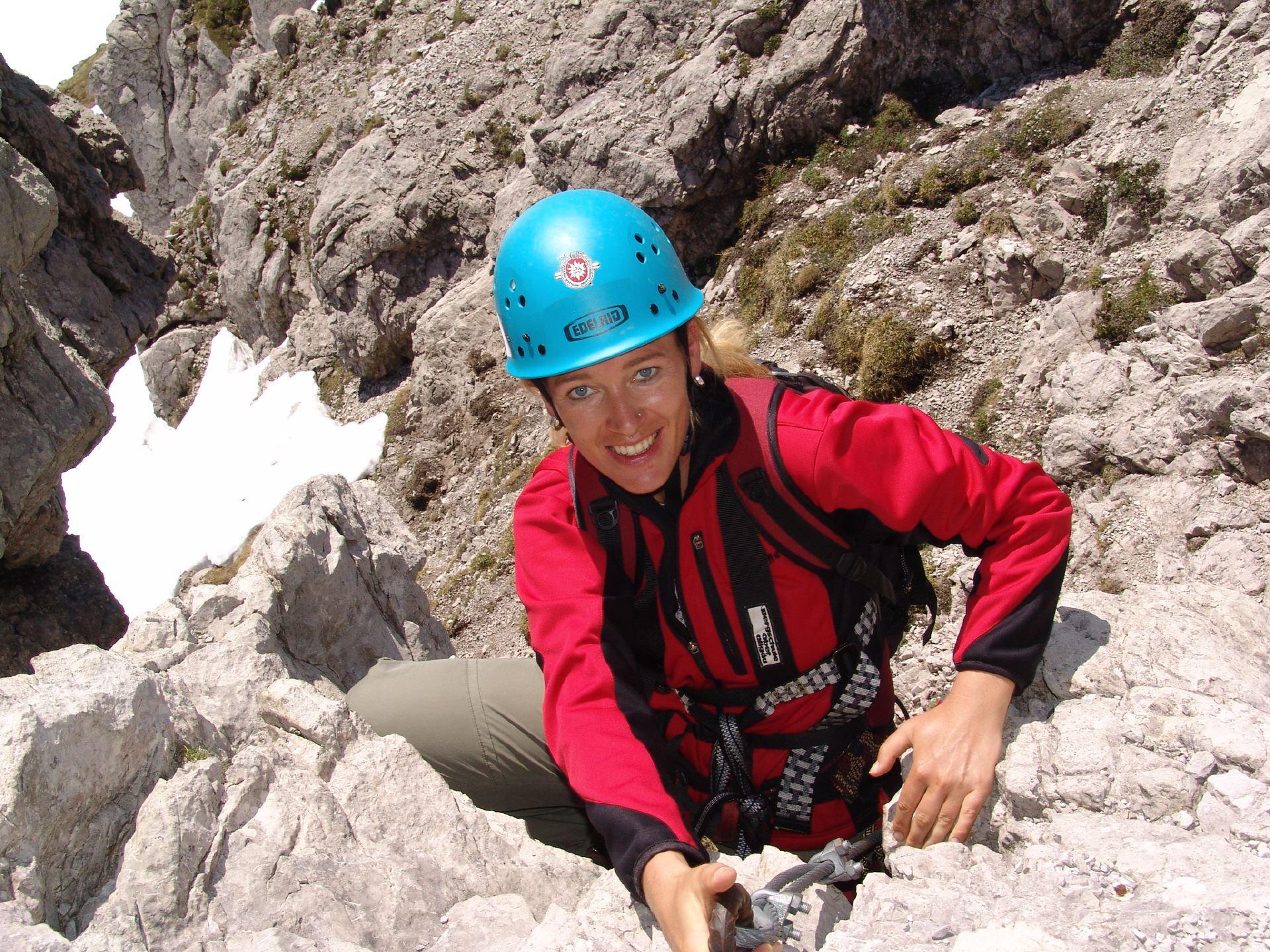 Zillertal Klettersteigset Leihen : Tagestour hindelanger klettersteig